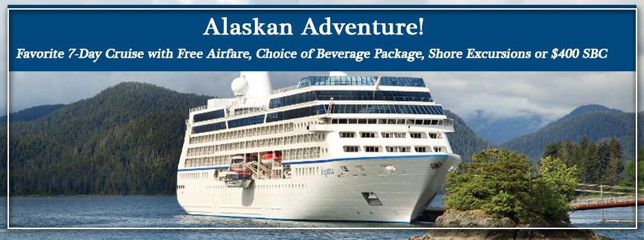 Oceania Cruises Summer Alaska Cruise Special Cruise Travel Experts - Cruise packages with airfare