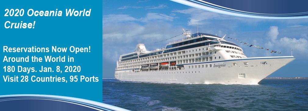 World Cruise Vacations Cruise Amp Travel Experts