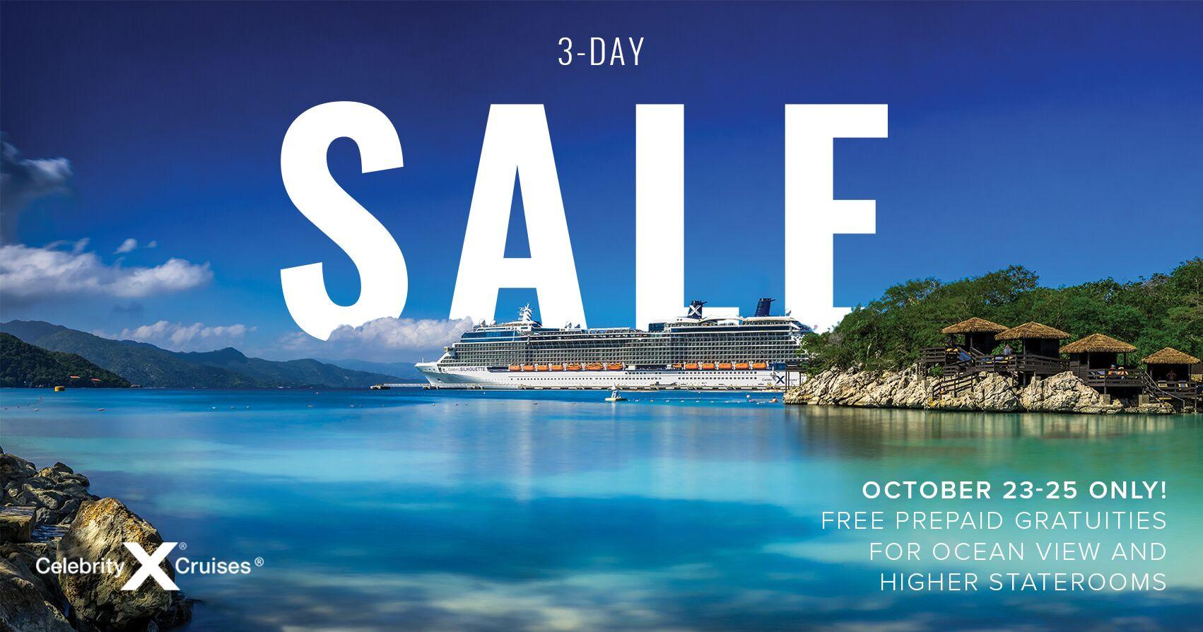 Celebrity Cruises Three Day Sale Cruise Travel Experts