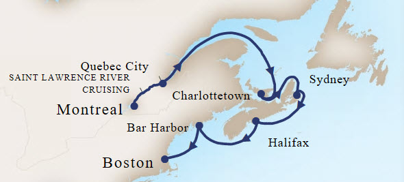 7-Day Canada New England Cruise on Holland America Line ...