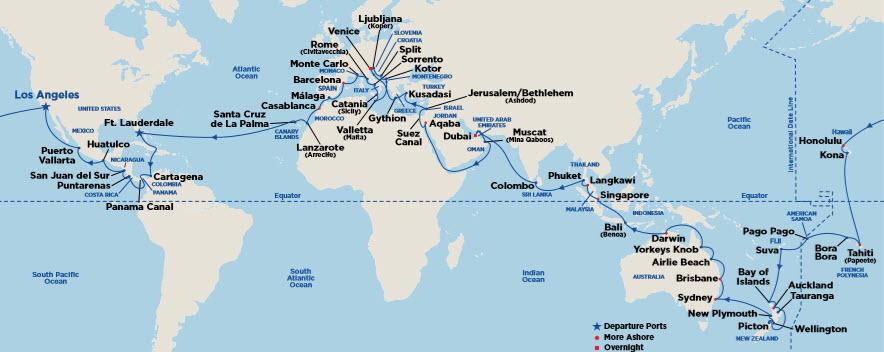 World Cruises – Cruise & Travel Experts