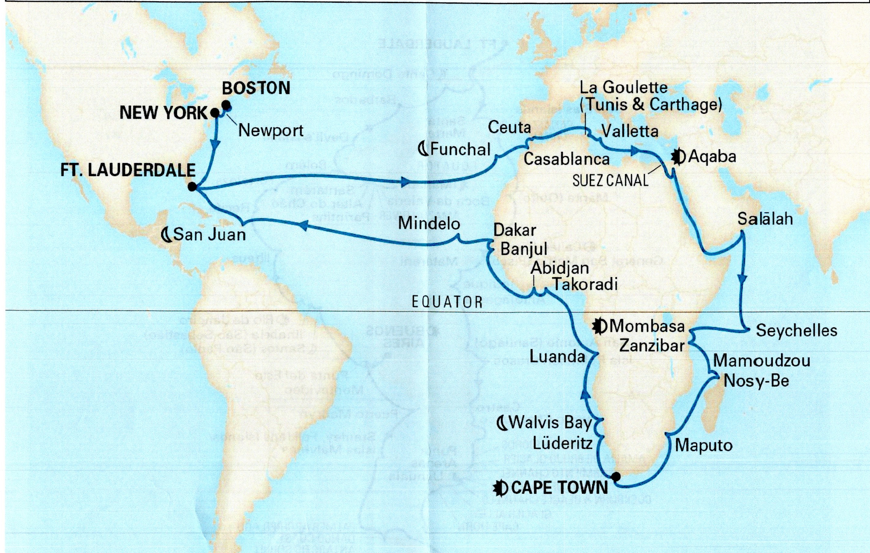 Holland America Line 2020 Grand Africa Voyage