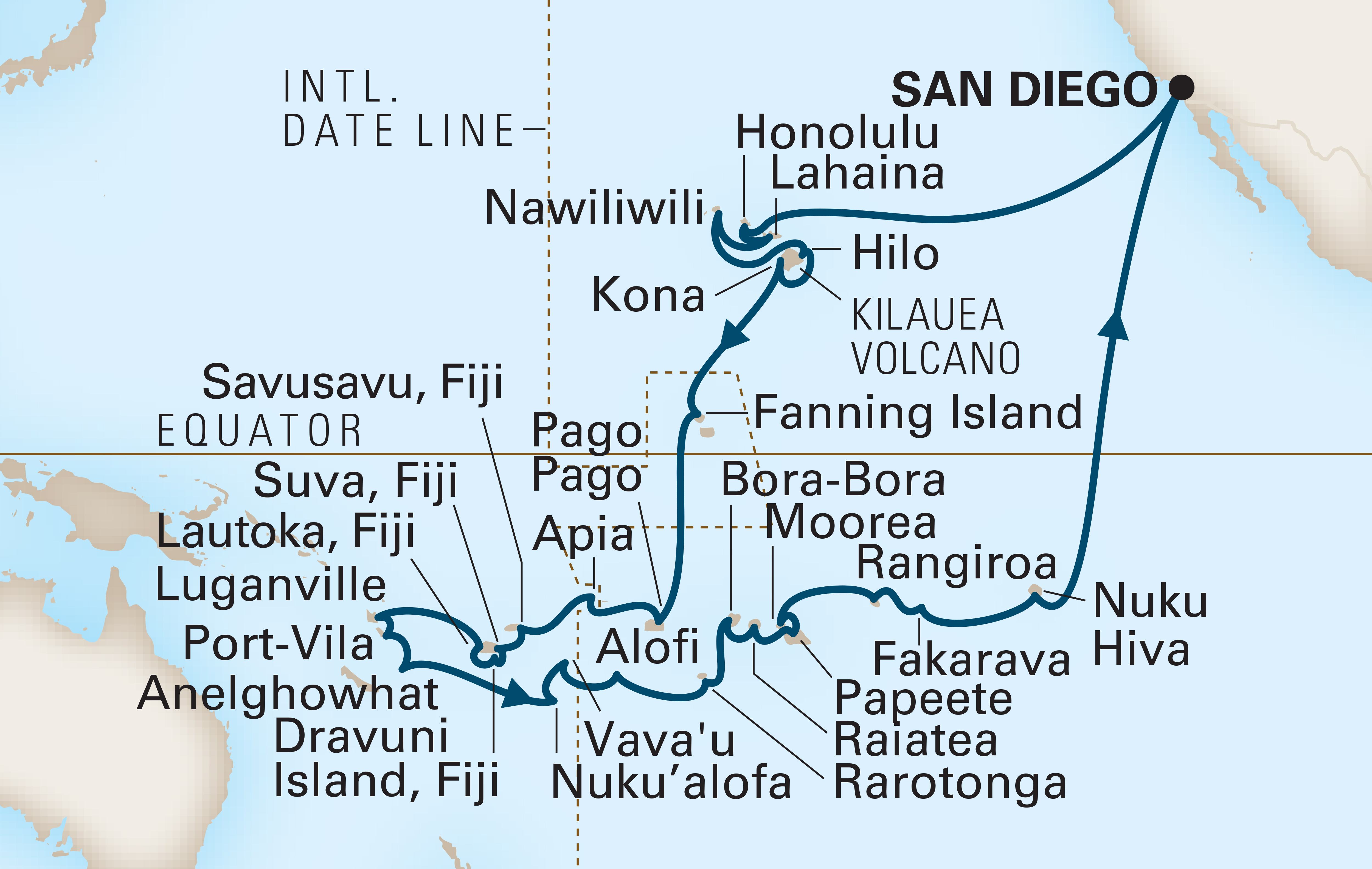 51 Day Holland America Line Tales Of
